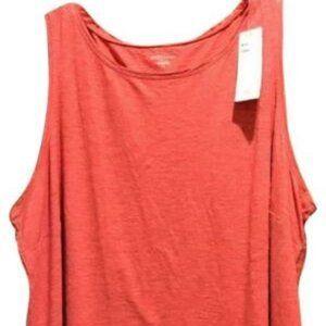 Eileen Fisher Scoop Neck Hemp Tank Tee Shirt NWT